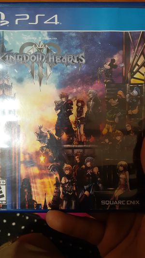 Kingdom Hearts 3 Ps4 for Sale in Alameda, CA