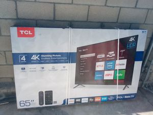 65in TCL 4K Roku Smart TV for Sale in Lincoln Acres, CA