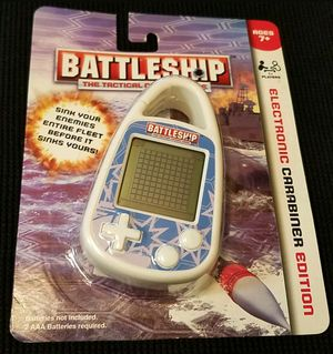 2011 BATTLESHIP The Tactical Game Mini Grid ELECTRONIC CARABINER EDITION for Sale in Las Vegas, NV