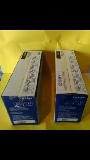 Brother 2 Pack Toner #TN-660 For HL-L 2300 Series Printers & MFC-L 2700 Series Copiers for Sale in Raleigh, NC