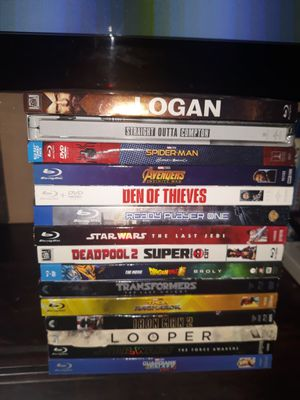 Blu rays movies for Sale in Fontana, CA