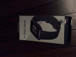 Fitbit versa brand new in the box for Sale in Dallas, TX