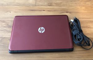 HP 15 Notebook PC Red for Sale in Franklin, TN