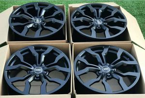 """19"""" Audi R8 Forged OEM black wheels for Sale in Long Beach, CA"""