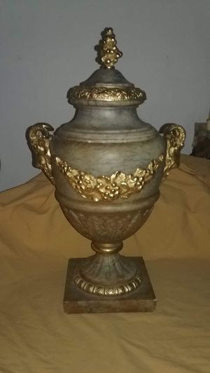 Bronze and marble urn for Sale in Fort Lauderdale, FL