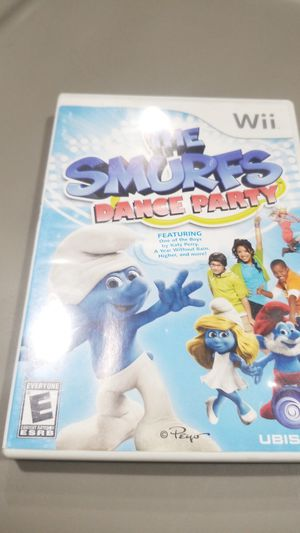 THE SMURFS DANCE PARTY Wii Game for Sale in San Diego, CA