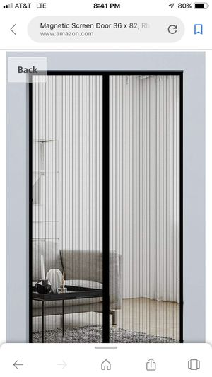 Over the door screen for Sale in Evansville, IN