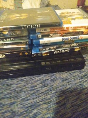 Blu-rays and Blu-ray DVD player Wi-Fi compatible for Sale in Columbus, OH