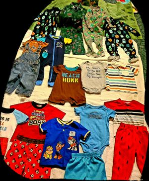 Size 6-9 months everything new or like new plus a book in last picture for Sale in Las Vegas, NV