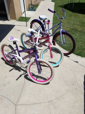 "24"" Bike 2=20"" Bikes for kids for Sale in Downey, CA"
