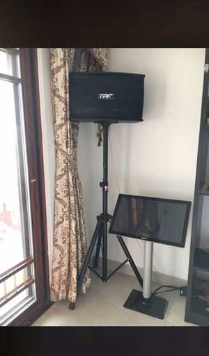 Plus Karaoke Player, with Mic, 19.5 inch Touch Screen 8TB HDD, Home Entertainment Online movie Intelligent Song-selection Free Cloud Downloa for Sale in Virginia Beach, VA