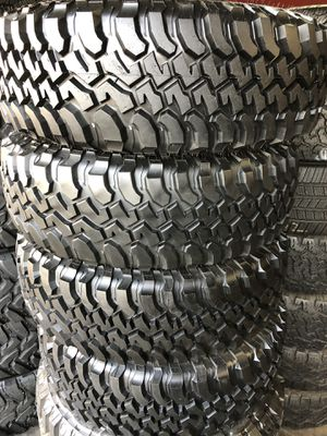 255/75R17 BFGoodRich M/T tires (4 for $500) for Sale in Chino Hills, CA