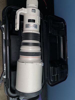 Canon EF 500mm f/4L IS USM Super Telephoto Lens for Sale in Fort Lauderdale, FL