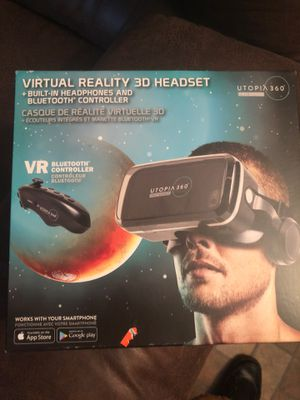 Vr reality 3D headset for Sale in Channelview, TX