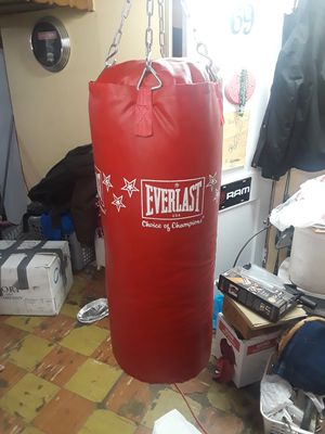 60lb Everlast Punching Bag for Sale in Cleveland, OH