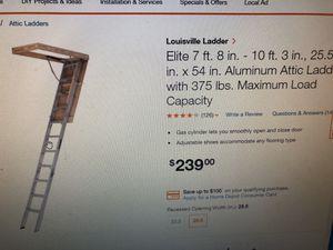Attic ladder for Sale in San Jose, CA