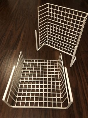Under Shelf Basket Storage Rack Organizers - Set of 2 - Great Condition! for Sale in Arlington Heights, IL