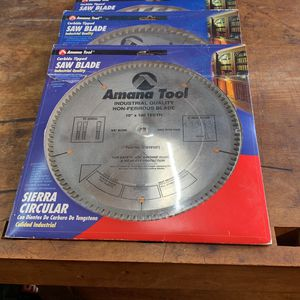 """Amana 10"""" Table Saw Blades for Sale in San Diego, CA"""