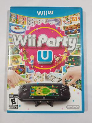 Wii Party U Nintendo Wii U Fast Shipping 80 games Party time for Sale in Winter Springs, FL