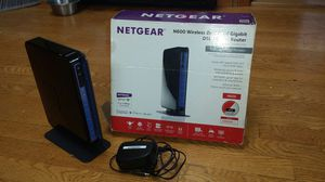 Netgear n 600 dual band modem router for Sale in Chicago, IL