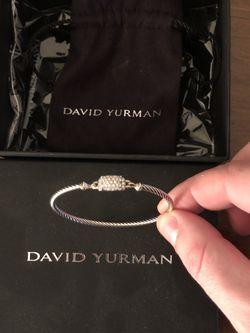 David Yurman Bracelet With Diamond Clasp for Sale in Whitman,  MA