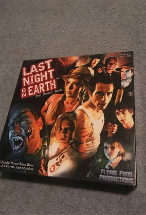 Last night on earth board game for Sale in Graham, WA