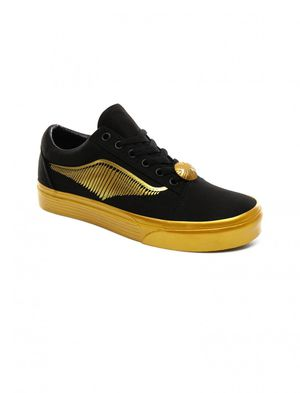 Vans Old Skool By Harry Potter Golden Snitch - Multiple sizes for Sale in El Paso, TX