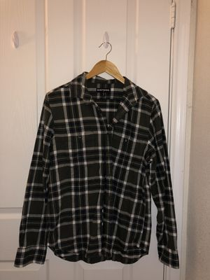 Men's Plaid Button-Up (Medium) for Sale in Rolla, MO
