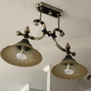 Dual Bulb Heavy Duty Kitchen or Island or Pool Table Lamp for Sale in Hialeah, FL