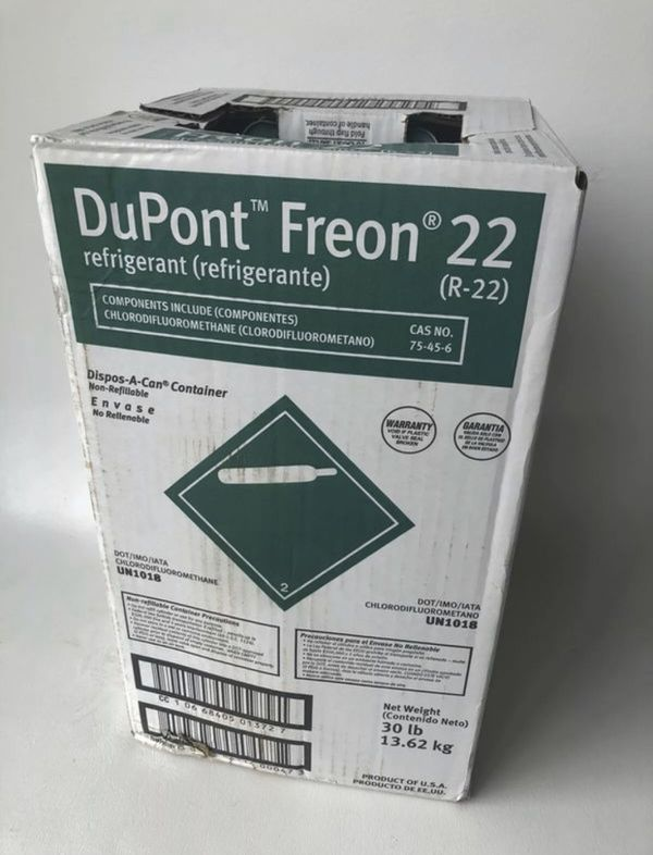 Freon r-22 Sealed Tank New R22