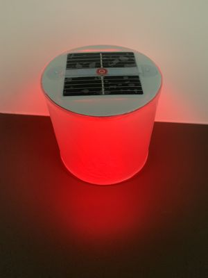Multicolor Solar powered Camping LED light - Inflatable and Waterproof for Sale in Paradise Valley, AZ