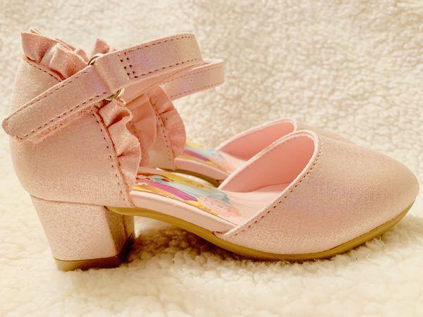 8T Pink Shine Little Princess heel