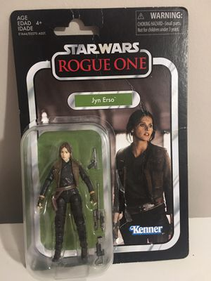 Star Wars Rogue One Jyn Erso Figure for Sale in Mantua, OH