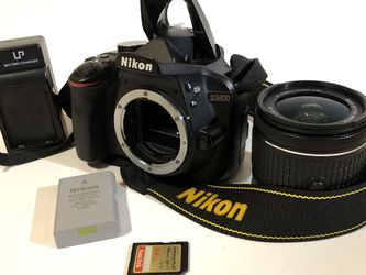 Nikon D3400 24.2mp DSLR Camera for Sale in Highland,  CA
