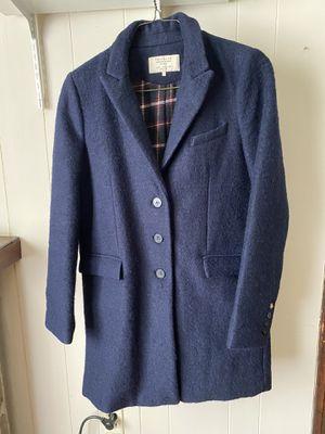 Zara coat dark blue for Sale in Columbia, MO