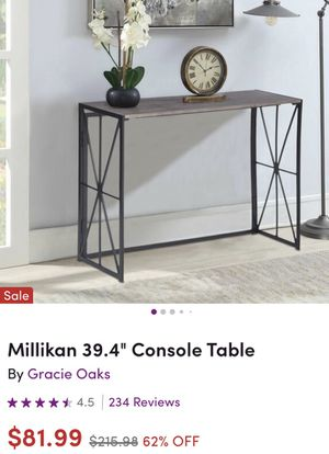 Console table for Sale in Lake Elsinore, CA