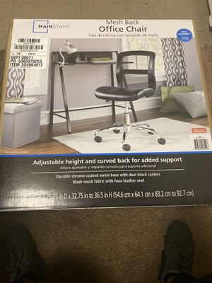 Mesh Back Office Chair Brand New In The Box 40$ And It's Yours for Sale in Detroit, MI