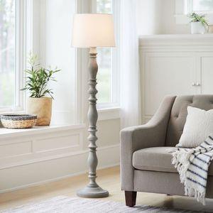 3-way Turned Wood Floor Lamp - Threshold™ for Sale in Stanton, CA