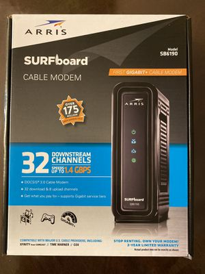 Arris cable modem for Sale in Kirkland, WA