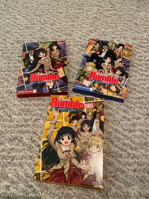 School Rumble (anime) DVDs, 3-boxed sets for Sale in Houston, TX