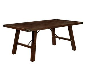 Farmhouse table very luxury table heavy duty solid wood. New in box 📦 never use . Chairs not included. 5'x3'. for Sale in San Diego, CA