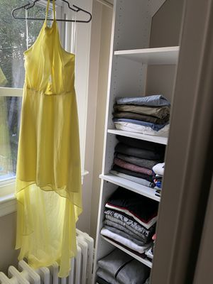Yellow high low h & m dress for Sale in Morris Plains, NJ