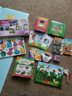 Learning set, books, puzzles, magnetic boards for Sale in Gresham, OR