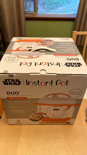 Star Wars instant pot for Sale in Bremerton, WA
