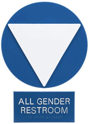 Advantus Gender Neutral ADA Sign Business and Store Sign for Sale in Bakersfield, CA