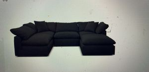 Black sectional couch for Sale in Hayward, CA