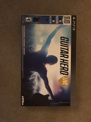 Guitar Hero Live for PS3 for Sale in Sunrise, FL