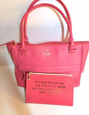 ♠️ Kate Spade shoulder bag/ satchel and matching idiom case for Sale in Manchester, CT