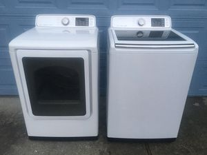 SAMSUNG SUPER CAPACITY WASHER AND DRYER for Sale in Chesapeake, VA