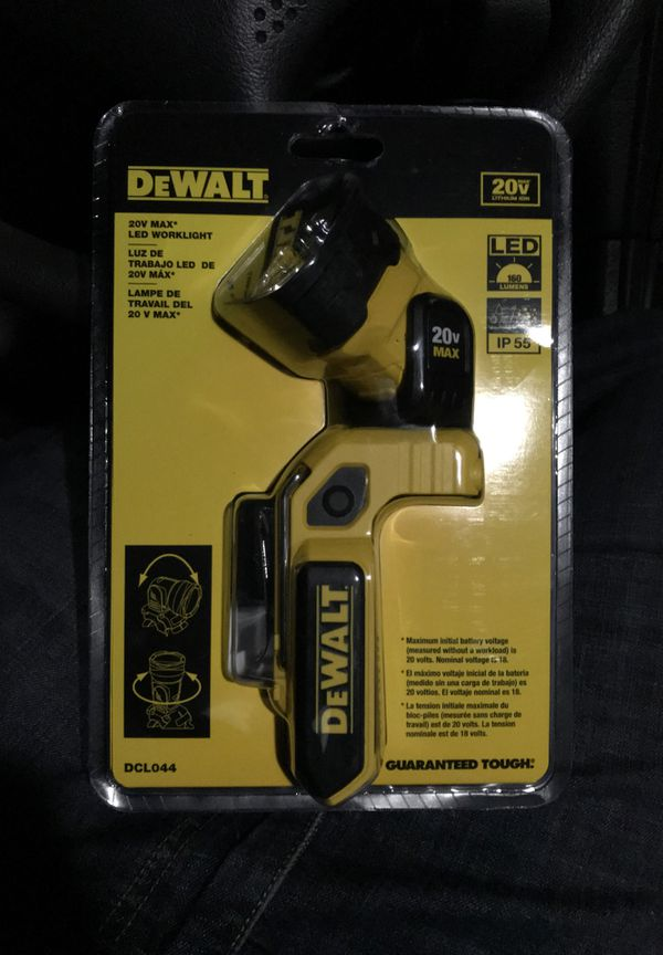 Dewalt 20v max work light
